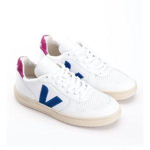 Veja V Magenta Glitter Sneakers | Poshmark